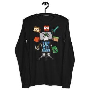 Tops TopStiGear Crafting Unisex Long Sleeve T-Shirt