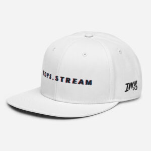 Tops Glitched Tops.Stream Snapback Hat