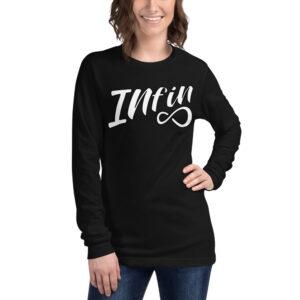 Infineight Logo Unisex Long Sleeve T-Shirt