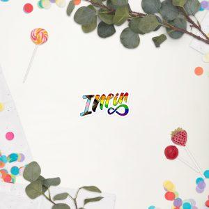 Infineight Pride Logo Sticker