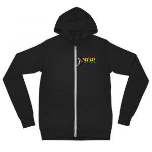 Infineight Pride Logo Unisex Zip Hoodie