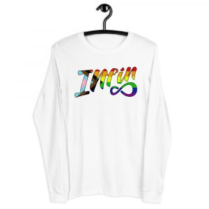 Infineight Pride Logo Unisex Long Sleeve T-Shirt